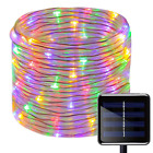 Solar Powered 12m LED Rope Light Great for Swimming Pool Walkway Garden Stairs