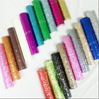 Chunky Glitter Wallpaper 3D Silver Crystal Black White Gold Rainbow Pink Samples