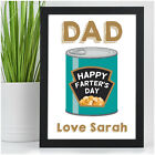 Personalised Novelty Happy Farters Day Fathers Day Gifts for Dad Daddy Grandad
