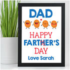 Personalised Novelty Fathers Day Gifts for Dad Daddy Grandad Happy Farters Day