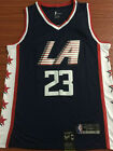 Brand New Los Angeles Clippers 23 Louis Williams Basketball jersey Black Size