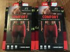 4-Pairs Russell Performance Comfort Boxer Briefs S, M, L,