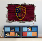 Cleveland Cavaliers Wall Art Decal 3D Smashed Basketball NBA Wall Decor WL185 on eBay