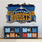 Denver Nuggets Wall Art Decal 3D Smashed Basketball NBA Wall Decor WL187 on eBay