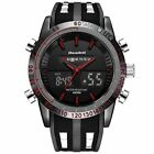 Sport Analog Digital LED Display Watch Mens Watches Waterproof Wristwatches