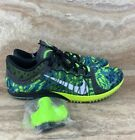 Nike Zoom Victory XC 3 Track Spikes Shoes Green Black Neon $58.49 USD on eBay