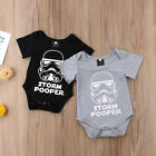 Star Wars Newborn Baby Boy Romper Bodysuit Sunsuit One Piece Clothes Outfits USA $6.79 USD on eBay