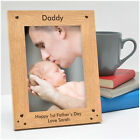 PERSONALISED Fathers Day Gifts for New Daddy from Baby Son Daughter Photo Frame