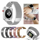 Milanese Stainless Magnetic Loop Steel Strap iWatch Band For Apple Watch 38/42mm image