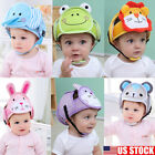 Adjustable Baby Toddler Safety Helmet Headguard Cap Protective Harnesses Hat USA