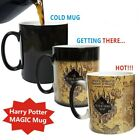 HEAT COLOUR CHANGING MAGIC MUG / CUP - HARRY POTTER MARAUDERS MAP
