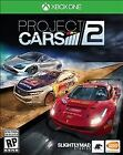 Project Cars 2 Xbox One Brand New Factory Sealed Racing