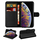 For Iphone XR XS 7 8 6 SE 2 [2020] PU Leather Wallet Case License Slot Flip Case