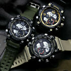 SMAEL Military Men's Watch Outdoor Sports Shock Waterproof Watches Chronograph image