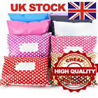 Coloured Plastic Postal Mailing Packaging Postage Bag Strong Self Seal Strip UK