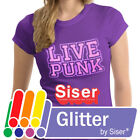 "Siser Glitter Heat Transfer Vinyl HTV for T-Shirts 12"" Roll s"