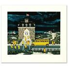 """Jane Wooster Scott """"Downtown Down East"""" Limited Edition Serigraph on Paper"""