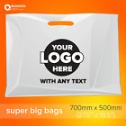 Custom Printed Plastic Carrier Bags - Personalised event plastic bags with logo