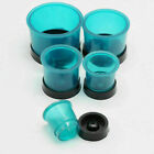 Dental Silicone Round Casting Flasks Rings Formers Base Wax Rubber 5 Size Choose