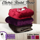 Dreamtime Electric Heated Throw Blanket Rug 160*130 Plush 300gsm - Free Freight