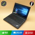 Fast Lenovo Thinkpad T440 Ultrabook Intel Core I5-4300u 500gb Ssd 8gb Ram Laptop