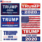 Donald Trump Flag 2020 Keep Make America Great Again 3x5 No More BS 2020 USA US