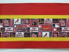 "St Louis Cardinals MLB Baseball Red/Yellow Pieced Valance Choose:40"",52"",80""x13"" on Ebay"