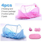 Portable Travel Newborn Baby Mosquito Net Infant Bed Tent Crib Mesh Mat Foldable image