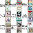 Universal Words Transparent Clear Silicone Stamp/Seal DIY scrapbooking/photo