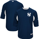 New York Yankees Majestic Authentic Collection On-Field Batting Practice Jersey on Ebay