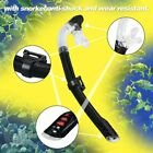 Diving Masks Goggle Full Dry Silicone Snorkel Tube Set Water Sports Equipment BE