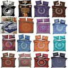 Indian Mandala Duvet/Doona/Quilt Cover Set Queen/Single Twin Size Bedding Throw