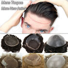 Mens Toupee 100% Human Hair French Lace With Thin Poly Skin Sides $98.5 USD on eBay