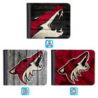 Arizona Coyotes Leather Men Wallet Bifold ID Credit Card Holder $9.99 USD on eBay