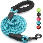 Внешний вид - Multi-Color 5FT Strong Dog Leash Climbing Rope Reflective Thread Night Safe USA