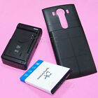 UPGraded Sporting Extended Battery Travel Charger Cover Case for LG V10 BL-45B1F