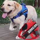 Pet Service Dog Harness Puppy Reflective Training Vest Walking Strap & 2 Patches