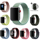 Woven Nylon Band for Apple Watch Sport Loop iWatch Series 4 3 2 1 38 42 40 44mm image