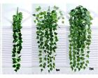 1PC Green Artificial Hanging Vine Plant Leaves