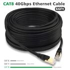 Premium CAT 8 7 + Round Network Faster Ethernet LAN Cable Cord Internet Patch US