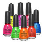 China Glaze Nail Polish Lacquer Creme, Shimmer, Glitter 99 Colors To Choose From $7.49 USD on eBay