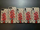 025gucci Embroidery iPhone Case For iPhones 6/7/8, 6/7/8 Plus, X/Xs, Xr, Xs Max