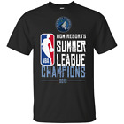 Minnesota Timberwolves NBA² Summer League Champions 2019 T-Shirt Black-Navy Men on eBay