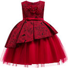 Wedding Flower Girl Birthday Party Princess Pageant Formal Dresses for Baby Kid