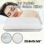 Bamboo Fiber Pillow / Bread Memory Foam Bed Pillows Cooling Gel Cluster Classic image