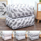Foldable Storage Bag Clothes Blanket Quilt Closet Sweater Organizer Boxes Bags