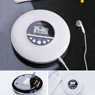 Personal Compact Disc Player with Headphones Jack Small Music CD Walkman Players