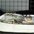Hip Hop Quavo Migos DIAMOND Rappers Glasses Iced Out Shinny 14K Gold Multicolor