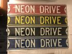 Dodge Plymouth Neon SRT-4 Neon Drive Street Sign $65.0 USD on eBay