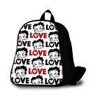 Betty Boop 108 Custom Kids Backpack Bag $32.55 USD on eBay